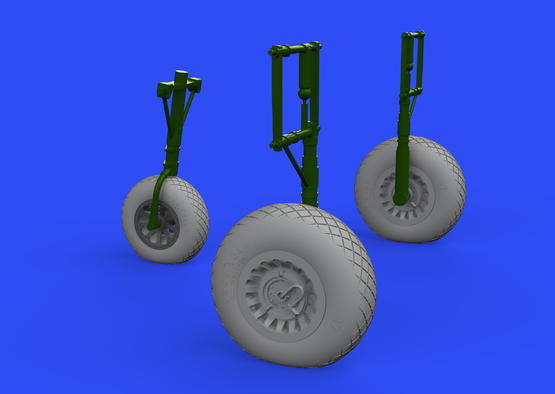 A-26 Invader wheels 1/32  - 1