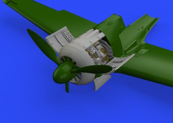 Fw 190A-4 エンジン 1/48  - 1