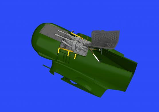 Fw 190A-4 fuselage guns 1/48  - 1