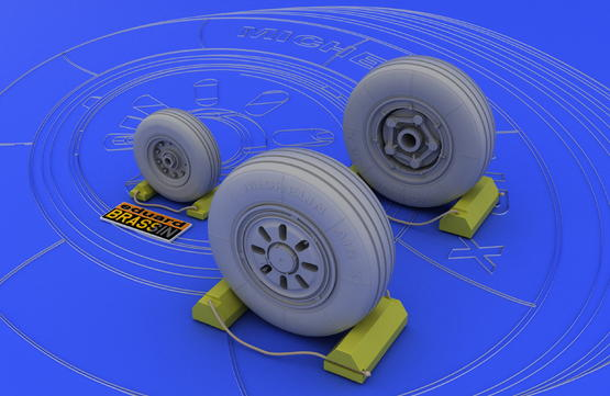 F-22A wheels  1/48 1/48  - 1