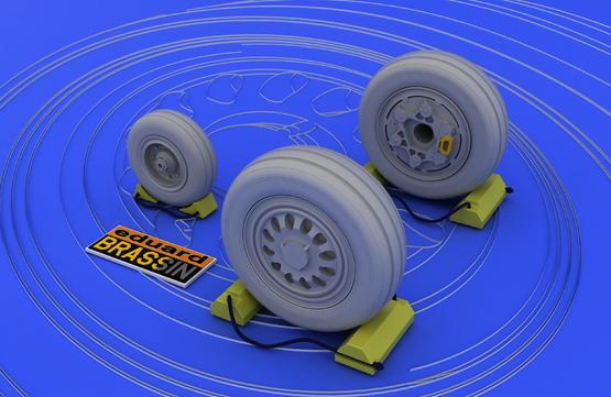 F-16 late wheels  1/48 1/48  - 1
