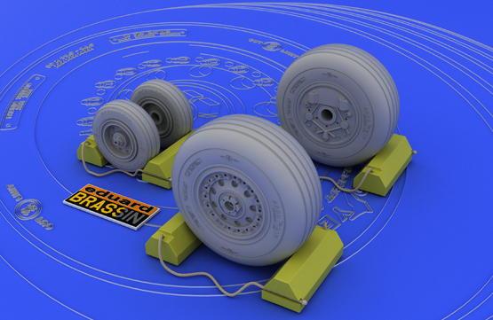 F-4J/S wheels  1/48 1/48  - 1