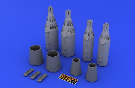 Ракетная пусковая установка UB-16 и UB-32 1/48  - 1