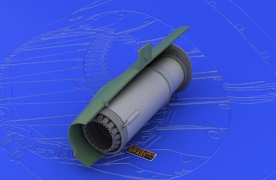 MiG-21MF/SMT exhaust nozzle 1/48  - 1