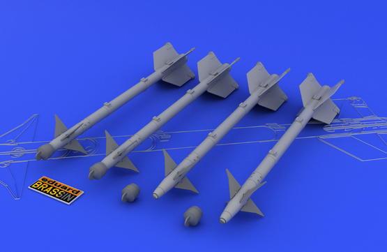 AIM-9M/L サイドワインダー 1/48  - 1