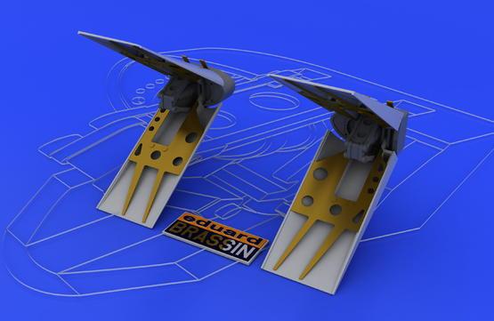 F-16 air brakes 1/48  - 1