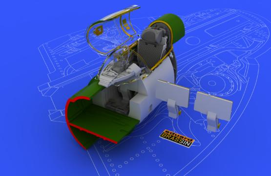 MiG-21BIS interiér 1/48  - 1