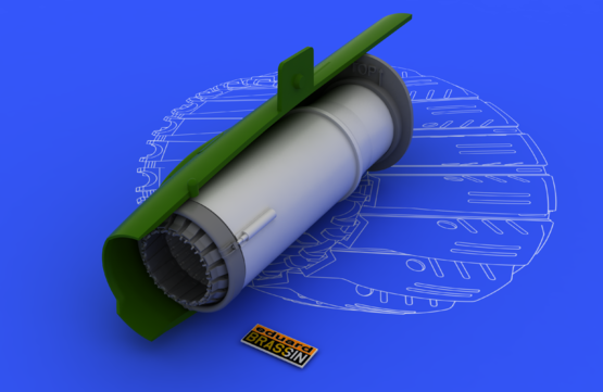 MiG-21BIS 排気ノズル 1/48  - 1