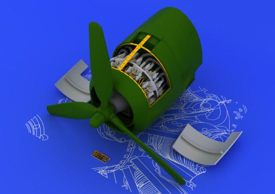 R-2800-10 engine 1/48  - 1