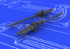 MG 17 German WWII guns  1/48 1/48 - 1/2