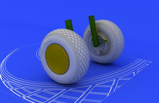 PV-1 wheels 1/48  - 1