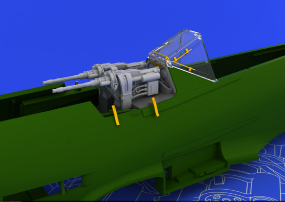 MG 131 mount for Fw 190D-9 1/48  - 1