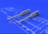 Browning M-2 guns (2pcs) 1/48 - 1/2