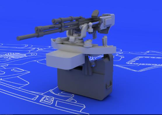 Il-2 UBT gun 1/48  - 1