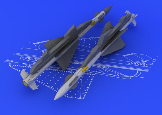 R-23R / AA-7 Apex (2pcs) 1/48  - 1