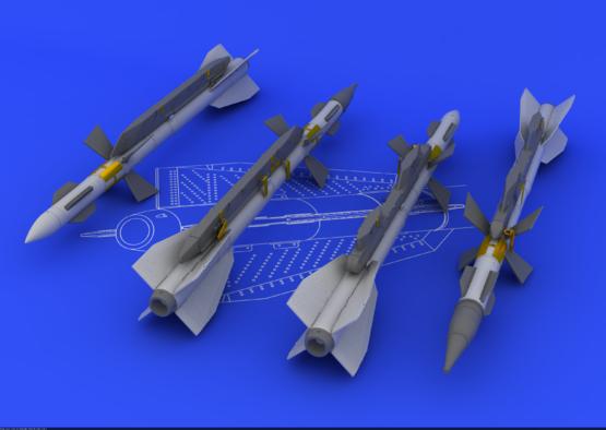 R-27ER / AA-10 Alamo-C 1/48  - 1
