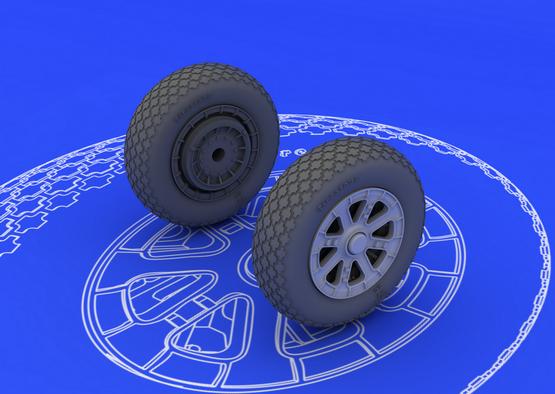 F6F wheels 1/48  - 1