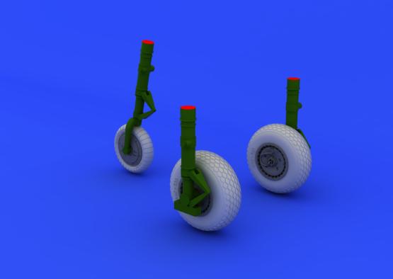 Me 262 wheels 1/48  - 1