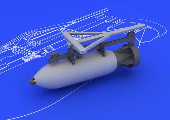 Spitfire sada bomb 500lb 1/48  - 1