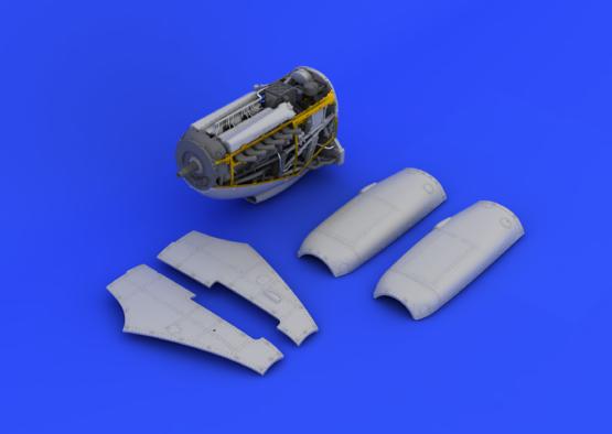 Spitfire Mk.IX двигатель 1/48  - 1