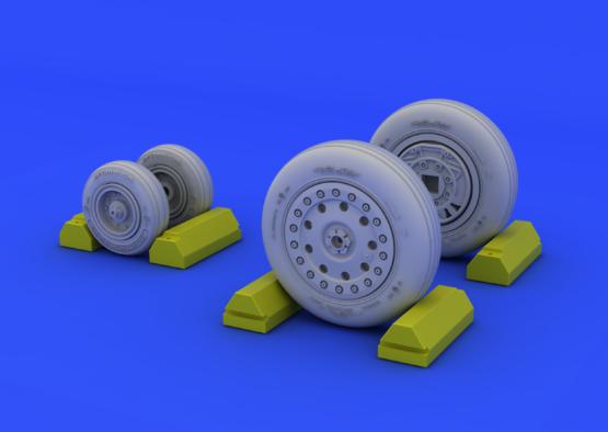 F-4B/N wheels 1/48  - 1