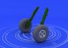 Spitfire wheels - 4 spoke 1/48 - 1/3