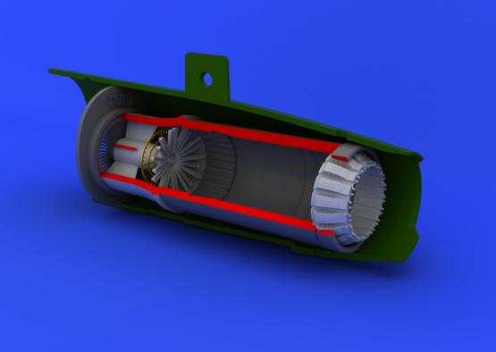 MiG-21PF/PFM exhaust nozzle 1/48  - 1