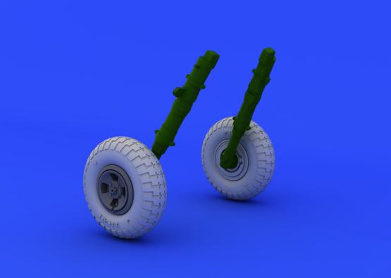 Spitfire kola čtyřpaprsková se vzorkem 1/48  - 1
