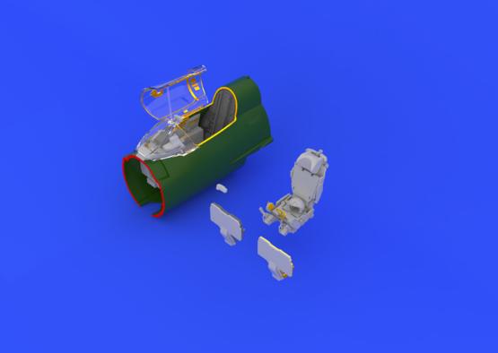 МиГ-21R интерьер 1/48  - 1