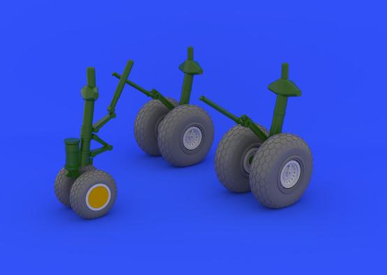 B-29 wheels 1/48  - 1