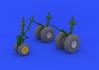 B-29 wheels 1/48 - 1/4