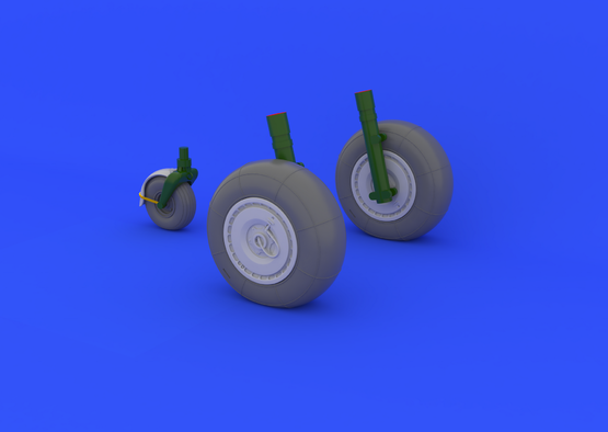 Ju 88 wheels late 1/48  - 1