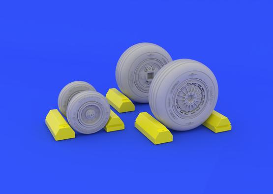 F-4C wheels 1/48  - 1