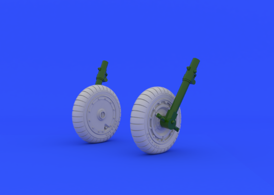 Fw 190 wheels late 1/48  - 1