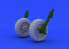 Fw 190 колеса ранний вариант 1/48 - 1/3