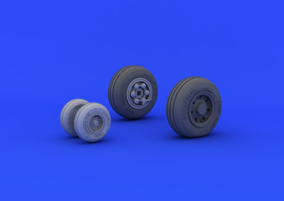 Tornado IDS wheels 1/48  - 1