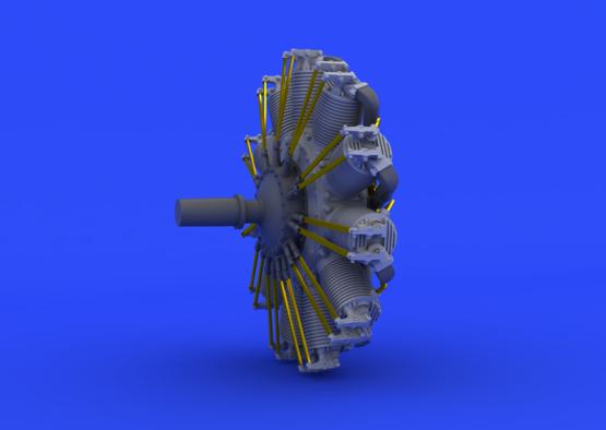 SSW D.III motor 1/48  - 1