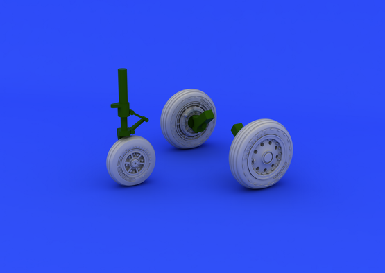 F-104 undercarriage wheels early 1/48  - 1