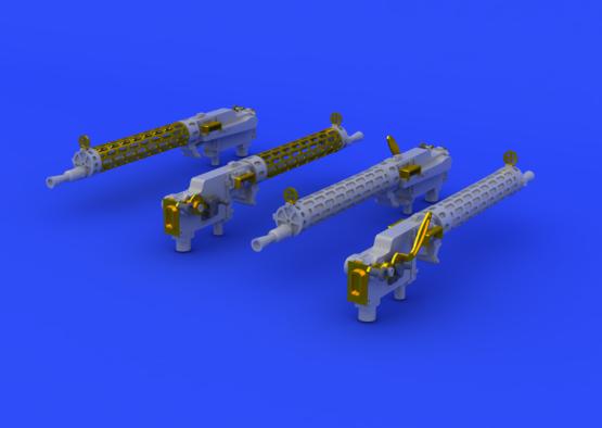 SSW D.III kulomety 1/48  - 1