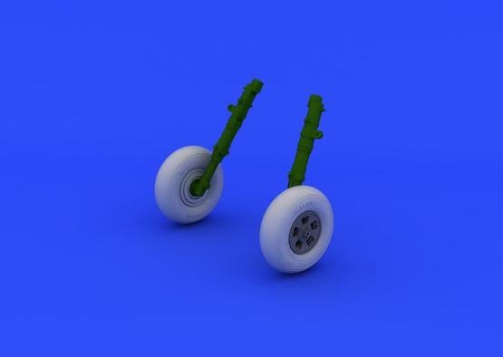 スピットファイア Mk.V  車輪 1/48  - 1