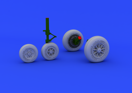 F-104 undercarriage wheels late 1/48  - 1