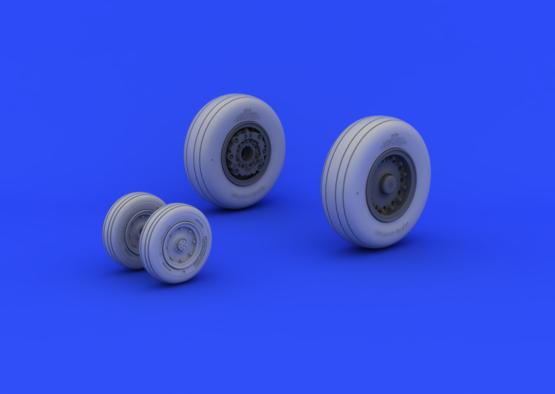 A-6 wheels 1/48  - 1