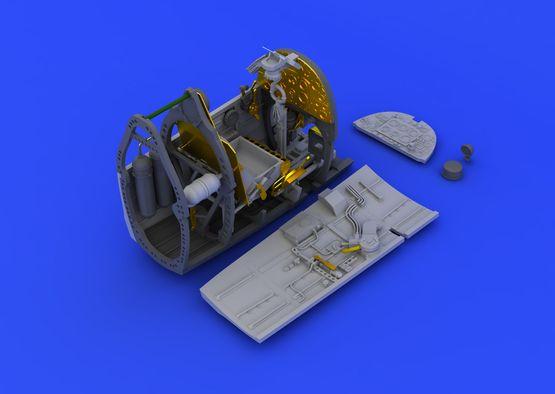 スピットファイア Mk.VIII コクピット 1/48  - 1