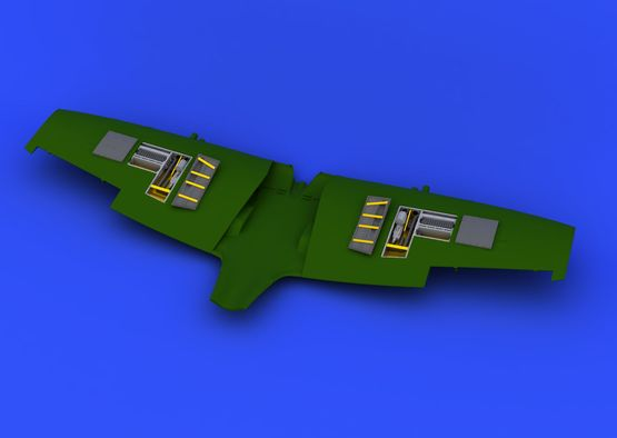 Spitfire Mk.VIII zbraňové šachty 1/48  - 1