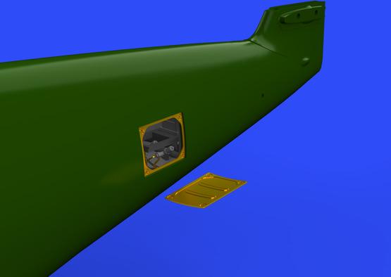 Bf 109G-2/4 radio compartment 1/48  - 1