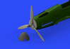 Bf 109F propeller EARLY 1/48 - 1/4