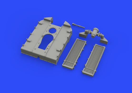 SE.5a radiator - Wolseley Viper 1/48  - 1