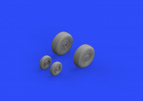 F-4J wheels 1/48  - 1
