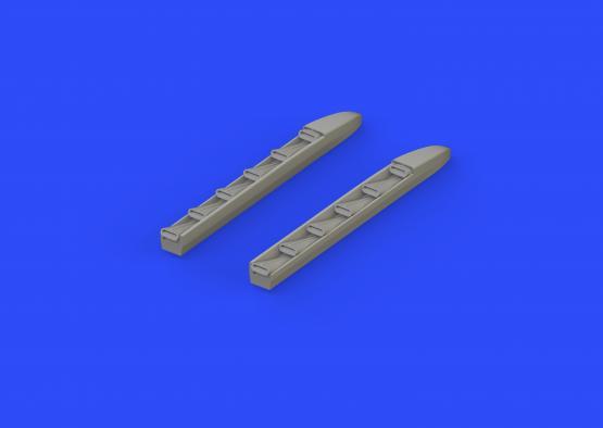 Ki-61-Id exhaust stacks 1/48  - 1