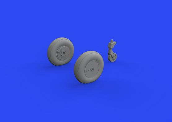Ki-61-Id wheels 1/48  - 1